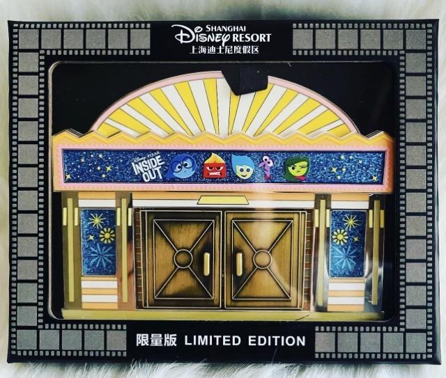 Into the Film Shanghai Disney Resort Jumbo Pin Box