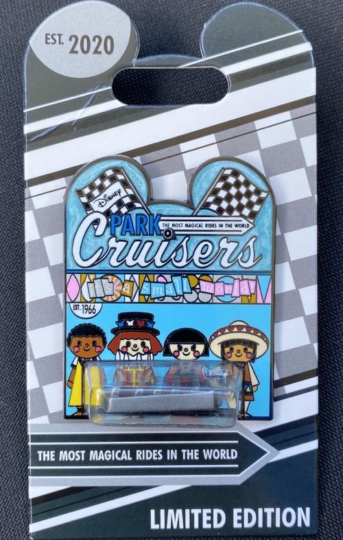 It's a Small World Disney Park Cruisers Pin