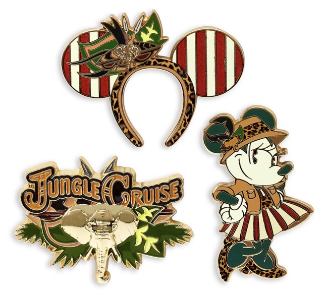 Jungle Cruise Minnie Mouse The Main Attraction Pins