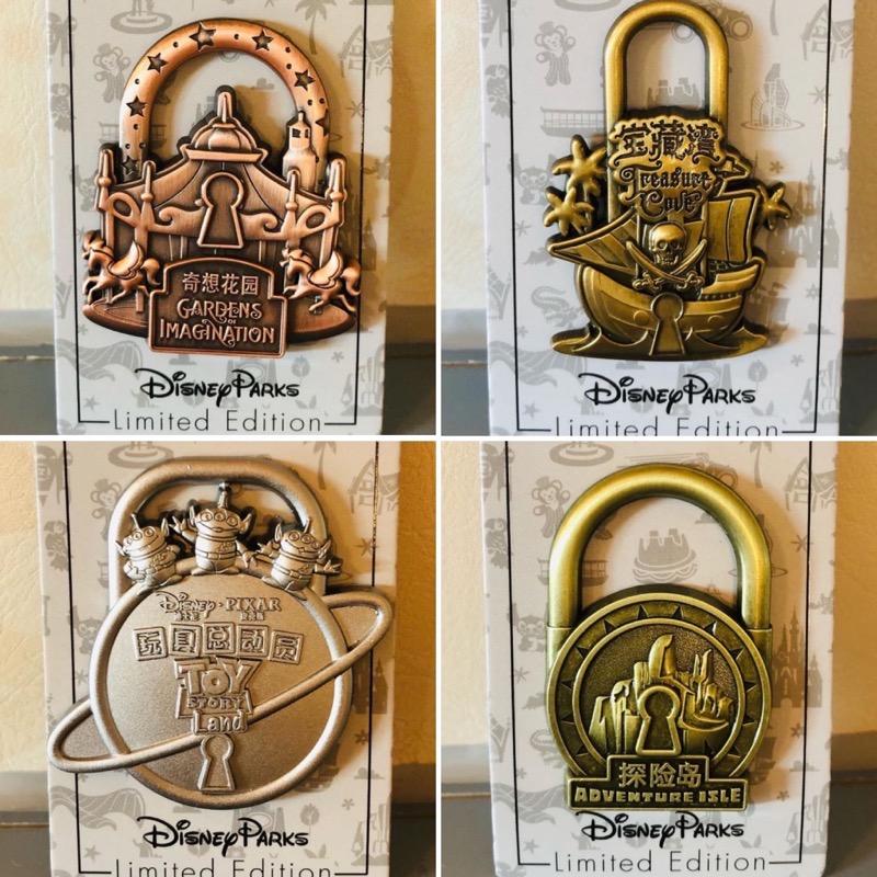 Lock the Magic Pin Series at Shanghai Disney Resort