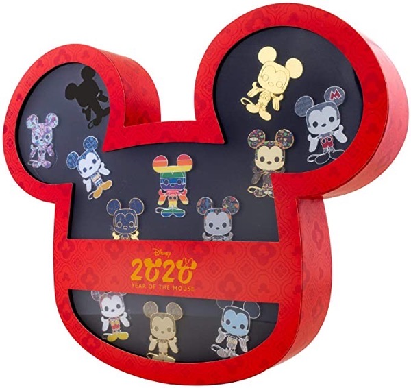 Loungefly Disney Year of The Mouse Amazon Exclusive 12 Pin Set