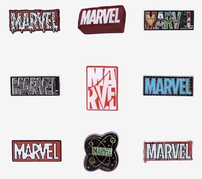 Marvel Logo Blind Box Pin Set at BoxLunch