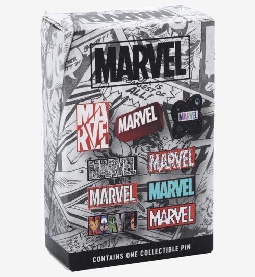 Marvel Logo Blind Box Pins