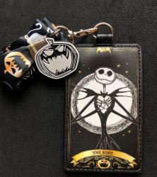 Nightmare Before Christmas Loungefly Cardholder Lanyard