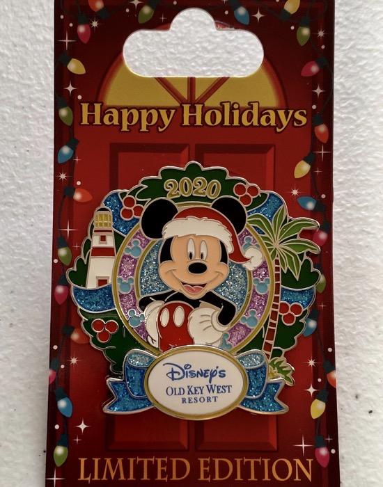 Old Key West Christmas Resort 2020 Disney Pin