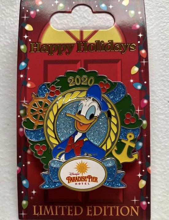 Paradise Pier Christmas Resort 2020 Disney Pin