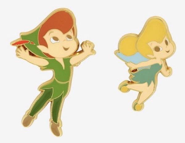 Peter Pan & Tinker Bell Chibi Disney Pin Set