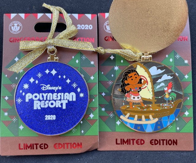 Polynesian Resort Gingerbread 2020 Disney Pin