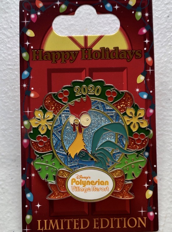 Polynesian Village Christmas Resort 2020 Disney Pin