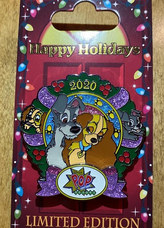 Pop Century Christmas Resort 2020 Disney Pin