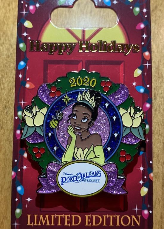 Port Orleans Christmas Resort 2020 Disney Pin