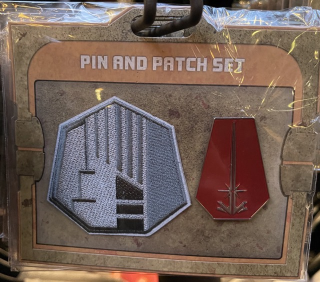 Power and Control Star Wars Galaxy's Edge Pin and Patch Set