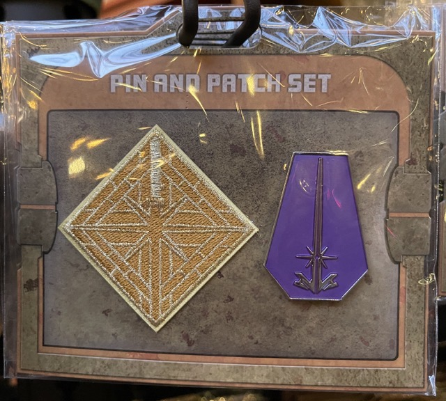 Protection and Defense Star Wars Galaxy's Edge Pin and Patch Set