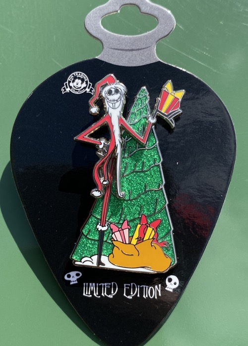 Santa Jack Christmas Tree - Jack Skellington Christmas 2020 Pin