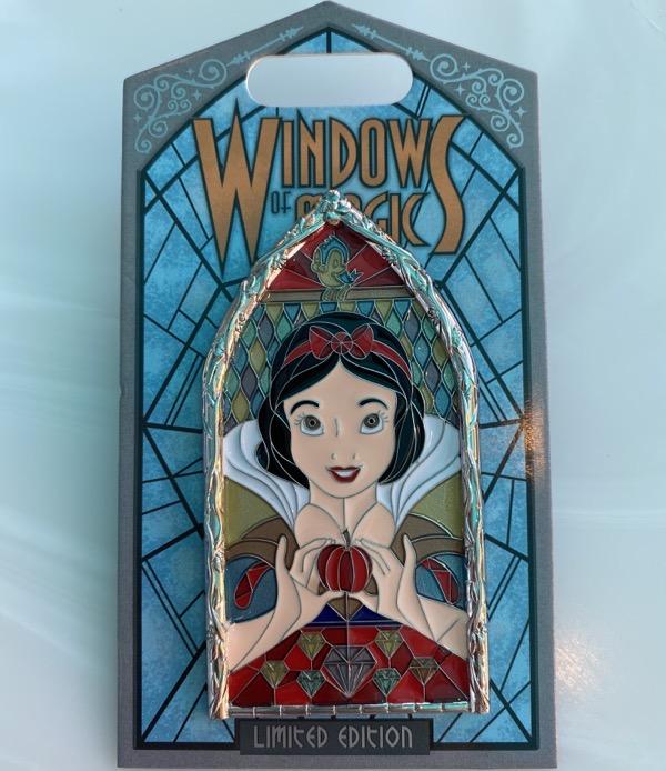 Snow White Windows of Magic Disney Pin