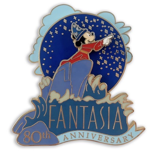 Sorcerer Mickey Mouse Fantasia 80th Anniversary