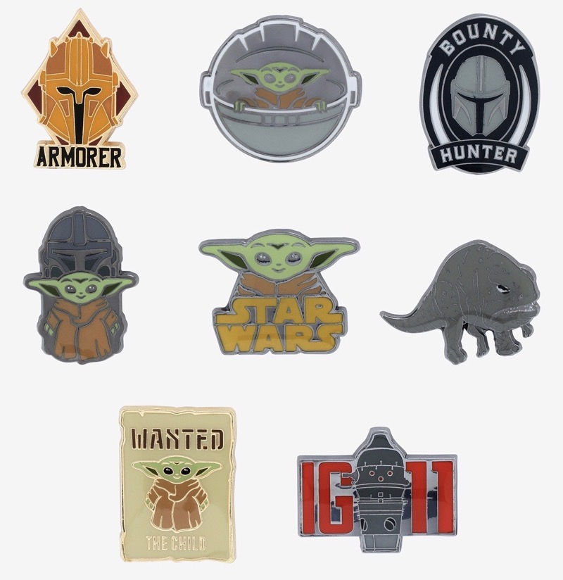 Star Wars The Mandalorian Blind Box Pin Set at BoxLunch