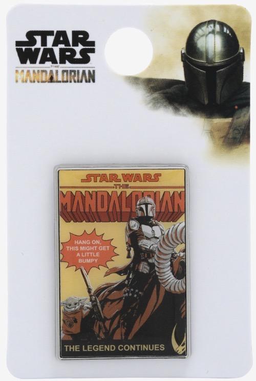 Star Wars The Mandalorian Comic Book BoxLunch Disney Pin