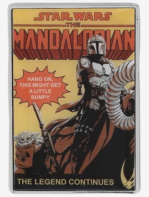 Star Wars The Mandalorian Comic Book Disney Pin