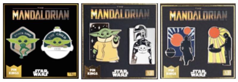 Star Wars The Mandalorian Pin Sets at Numskull