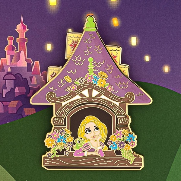Tangled 10th Anniversary Loungefly Disney Pin