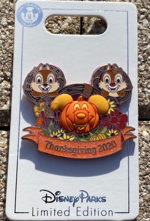 Thanksgiving 2020 Disney Pin