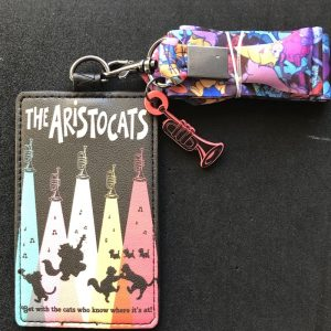 The Aristocats Loungefly Cardholder Lanyard