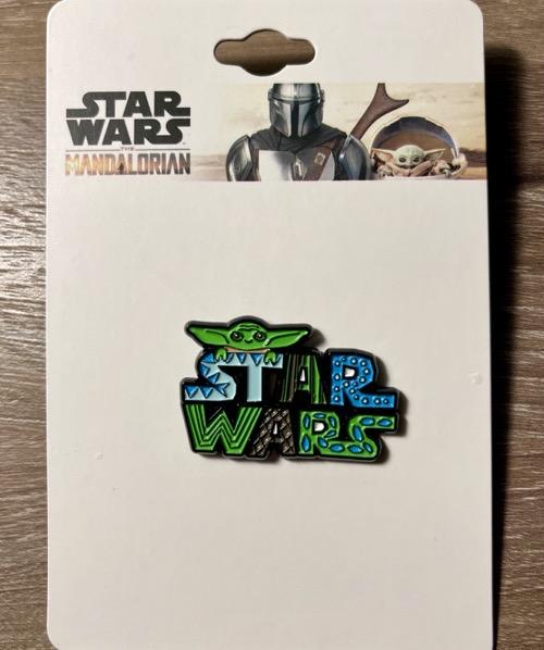 The Child Star Wars Logo Pin at BoxLunch