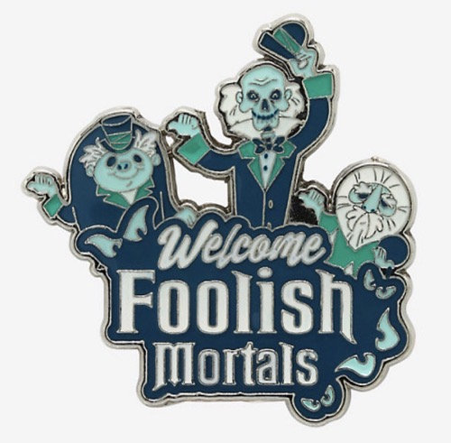 The Haunted Mansion Hitchhiking Ghosts Hot Topic Pin
