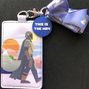 The Mandalorian This Is The Way Loungefly Cardholder Lanyard