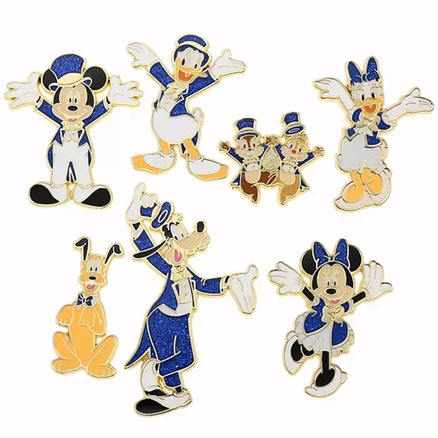 Tokyo Disney Resort Store 20th Anniversary Pins