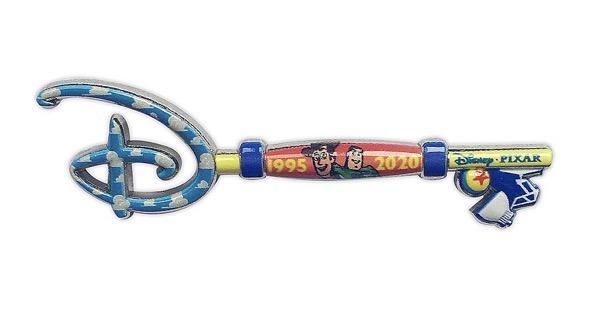 Toy Story 25th Anniversary Disney Store Key Pin