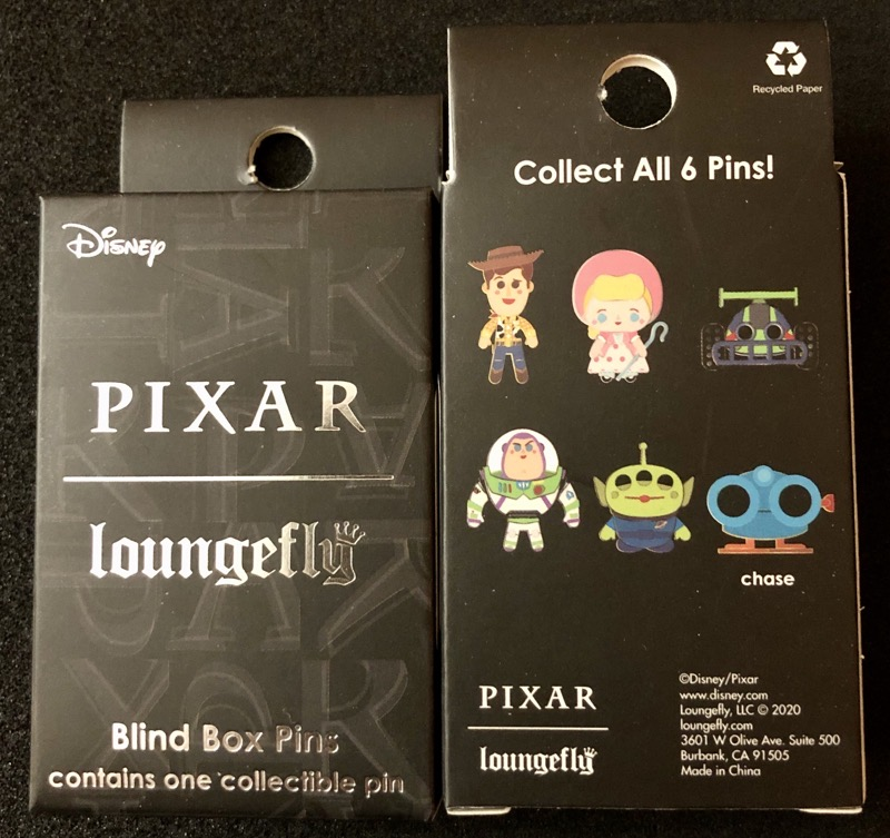 Toy Story 25th Anniversary Loungefly Blind Box Pin