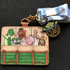 Toy Story 25th Anniversary Loungefly Cardholder Lanyard