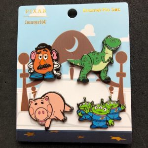 Toy Story 25th Anniversary Loungefly Disney Pin Set