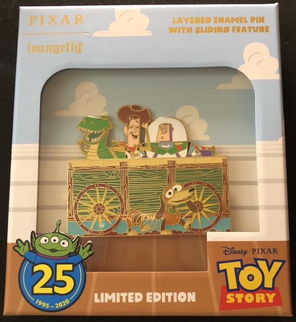 Toy Story 25th Anniversary Loungefly Limited Edition Disney Pin