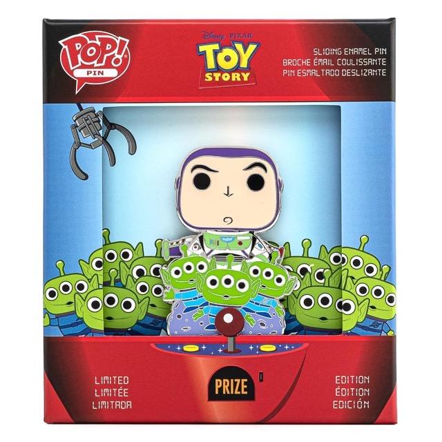 Toy Story Buzz & Alien POP! Pin