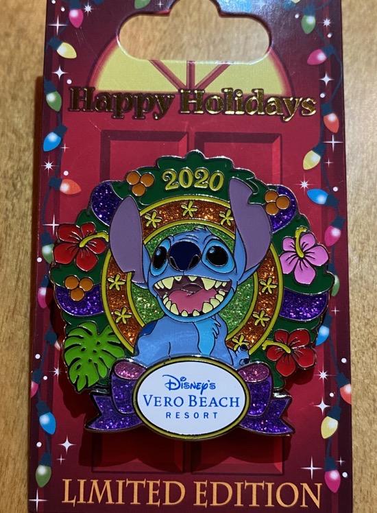 Vero Beach Christmas Resort 2020 Disney Pin