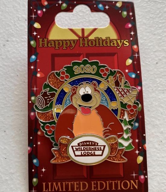 Wilderness Lodge Christmas Resort 2020 Disney Pin