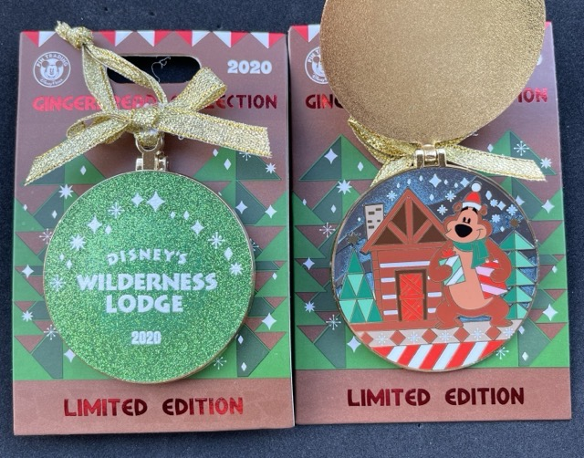 Wilderness Lodge Resort Gingerbread 2020 Disney Pin