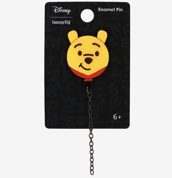 Winnie the Pooh Chain Pin at Hot Topic