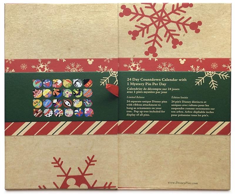 World of Disney Holiday 2020 Advent Calendar Pin Box