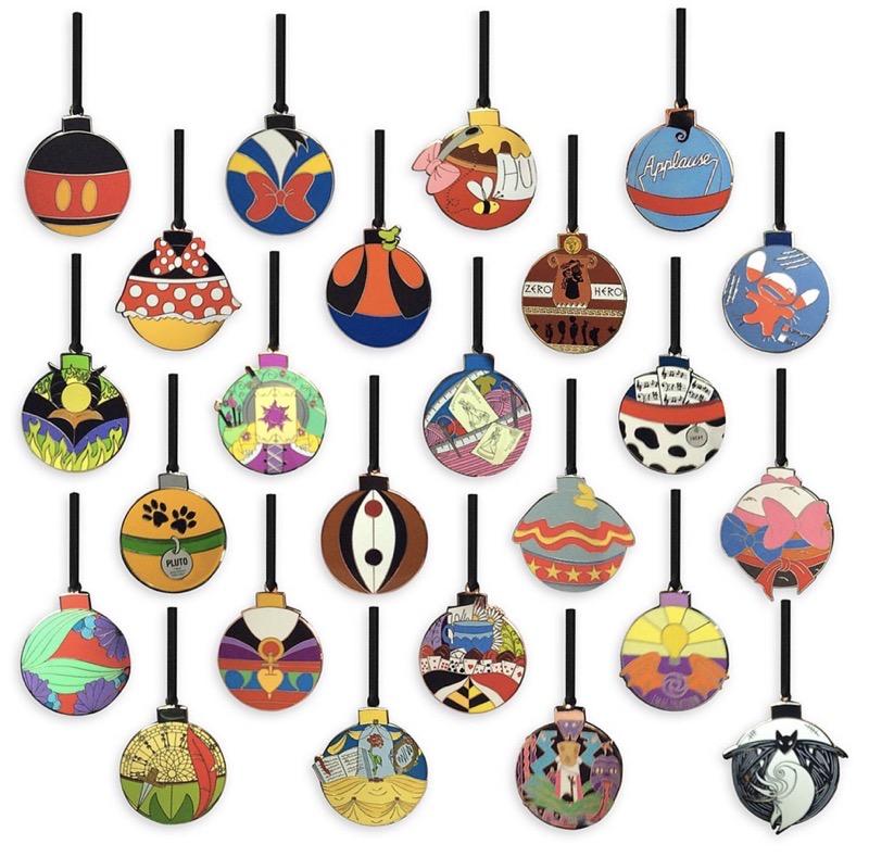 World of Disney Holiday 2020 Advent Calendar Pins