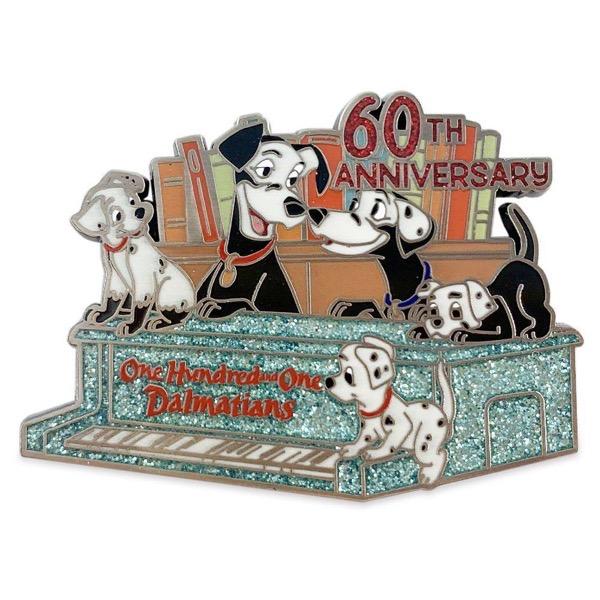 101 Dalmatians 60th Anniversary shopDisney Pin 101 Dalmatians 60th Anniversary shopDisney Pin