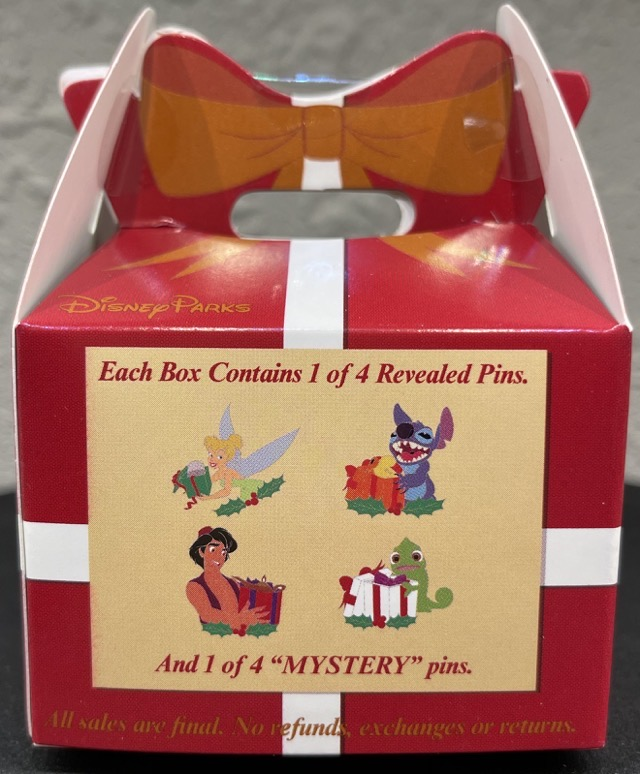 Back of A Gift for You! Mystery Disney Pin Collection