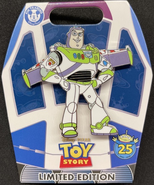 Buzz Lightyear - Toy Story 25th Anniversary Pin