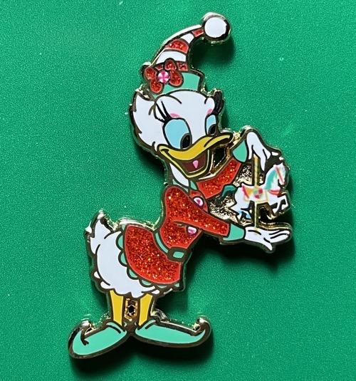Daisy Duck Happy Holidays 2020 Disney Pin