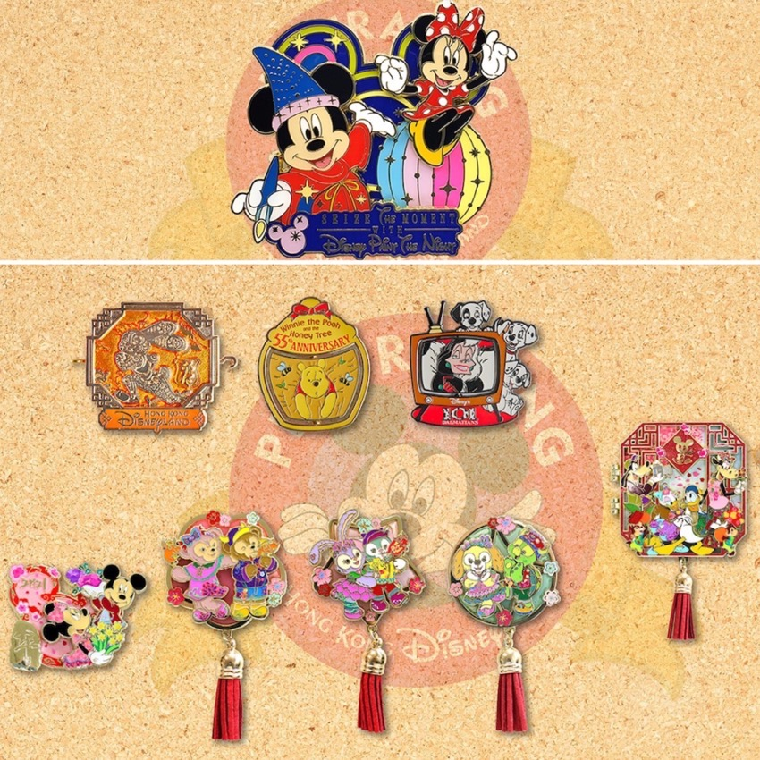 December 2020 HKDL Limited Edition Pin Releases