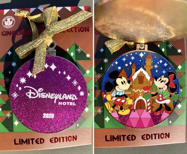Disneyland Hotel Gingerbread 2020 Disney Pin
