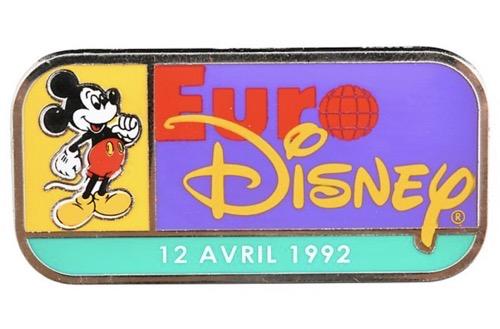 Euro Disney Pin